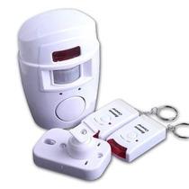 Alarme Sensor Infravermelho Presença Campainha Sem Fio 10mt