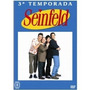 Seinfeld 3ª Temp Vol 2 Box C/ 4 Dvds Lacrado Original