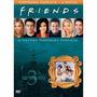 Friends Terceira Temporada Completa 4 Dvds Novo Original!
