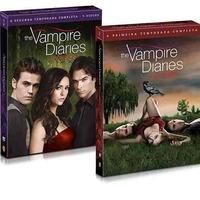 Box 1ª E 2ª Temporada The Vampire Diaries 10dvds Compreja Me