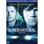 Box Dvd Original - Supernatural - 2ª Temporada - Lacrado