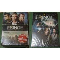 Kit Dvd: Série Fringe Fronteiras 1ª A 5ª Temporadas. 29 Dvds