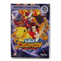 Dvd Digimon Datasquad - Protegendo O Mundo Humano Volume 15