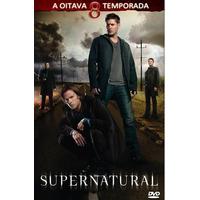 Série Sobrenatural 8 - Oitava Temporada Completa E Dublada