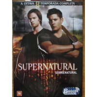 Dvd Supernatural Oitava Temporada