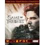 Série Game Of Thrones Terceira E Quarta Temporadas Dubladas