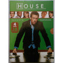Dvd House: 4ª Temporada Box C/ 6 Dvd.s - Original Novo