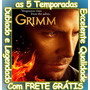 Serie Grimm 1ª Até 5ª Temporada Completas Com Frete Grátis