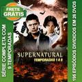 Serie Sobrenatural Com 9 Temporadas Completas Frete Grátis