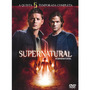 Box Supernatural / Sobrenatural 5ª Temporada 6 Dvds Original