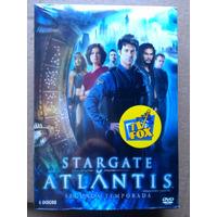 Stargate Atlantis 2ª Temporada - Box Dvd Novo Original Lacr.