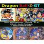 Coleção Completa Dragon Ball Z Dbz Dbgt Dvd Frete Gratis