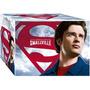 Dvd - Coleção Completa Smallville - As 10 Temporadas 60 Dvds