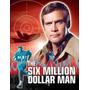 Dvd O Homem De 6 Milhões De Dólares 1ª,2ªe3ª Temps Dubladas