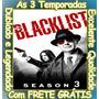 Serie The Blacklist (lista Negra) 1ª À 3ª Temporada + Frete