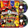 Dvd Power Ranger Furia Da Selva - Completo