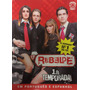 Box Com 03 Dvds Originais Rebelde- 1ª Temporada Original