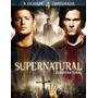 Supernatural 4° Temporada Dvd Box C/ 6 Discos - Novo