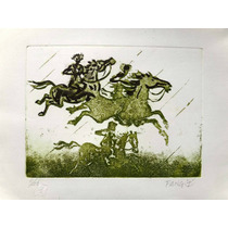 Fang - Composição C/ Cavalos - Rara Grav. Em Metal Dec De 80