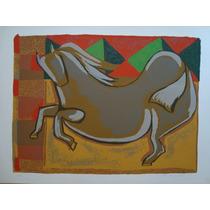 Tito De Alencastro - Cavalo - Linda Serigrafia !!!