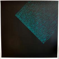 Almir Mavignier - Enorme Composição Em Pvc Folie 85cm X 85cm