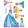 Display, Painel, Festa Infanti, Princesas