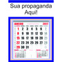 200 Folhinhas Comercial Calendário Grande Personalizado