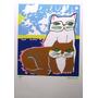 Aldemir Martins - Casal De Gatos - Deslumbrante Serigrafia