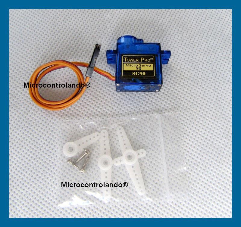 Servo motor g sg arduino pic micro servomotor