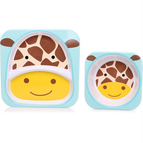Set De Pratos Zoo Girafa - Skip Hop