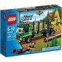 Lego City Caminhão De Transporte De Madeira 60059