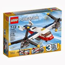 Lego Creator 3 Em 1 Aventuras Com Aviao De Duas Helices31020