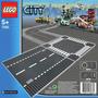 Lego City 7280 Pistas Reta E Cruzamento X , Novo!
