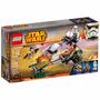 Lego Star Wars - A Speeder Bike De Ezra - 253 Peças