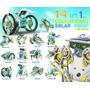 Kit Robô Solar 14 Em 1 - P/ Montar - Novidade Pronta Entrega