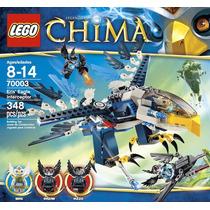 Lego Chima Interceptor Real De Eris 7003 - Lançamento