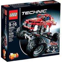 Lego Monster Truck - Technic - 2 Em 1 - 42005 Pronta Entrega