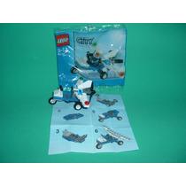 Lego City - Planador Da Políca - 30018 - Sem Minifig