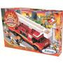 Brinquedo Blocos Combate Incendio Bombeiros 240 Peça Xalingo