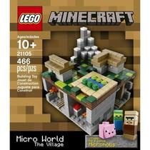 Lego Cuusoo Minecraft Micro World The Village