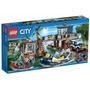 Lego 60069 City Delegacia Da Polícia Do Pântano Lego Cidade