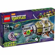 Novo Lego Tartarugas Ninja A Perseguição Submarina 79121