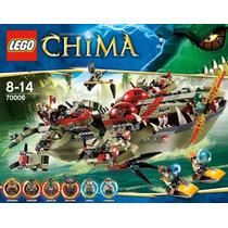 Brinquedo Lego Legends Of Chima Comandante Cragger 70006