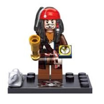 Blocos De Montar (5964) Piratas Do Caribe Capit Jack Sparrow