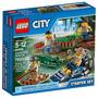 Brinquedo Novo Lacrado Lego City Polícia Do Pântano 60066
