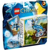 Brinquedo Novo Lego Chima Speedorz Voo Sobre O Ninho 70105