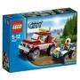 Brinquedo Novo Lacrado Lego City Perseguição Policial 4437