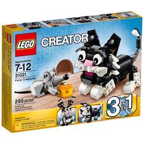 Brinquedo Novo Lego Creator Criaturas Felpudas 31021