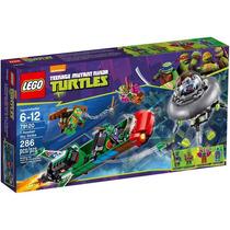 Lego Tartarugas Ninja T-rawket Ataca Dos Céus 79120