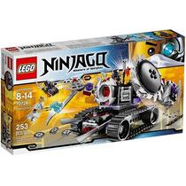 Lego Ninjago 70726 Destructoid ( 253 Peças / 3 Minifigures )